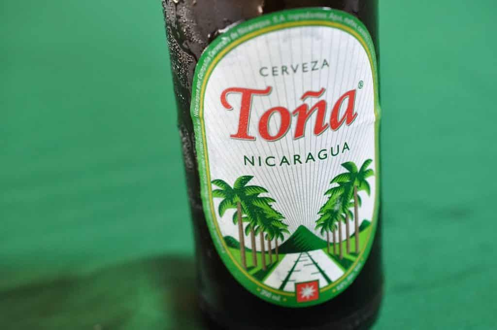 Toña, one of the most popular Nicaraguan beer