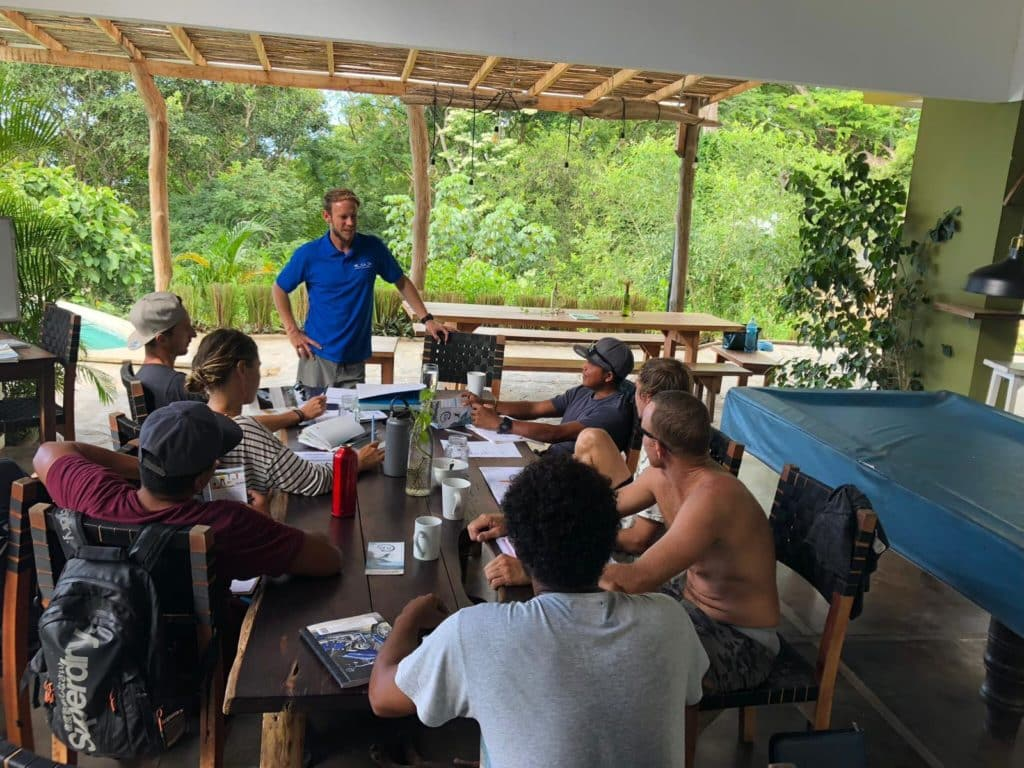 ISA surf coach course 2018